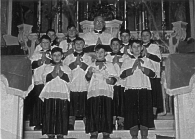 DON FRANCESCO AND HIS ALTAR BOYS