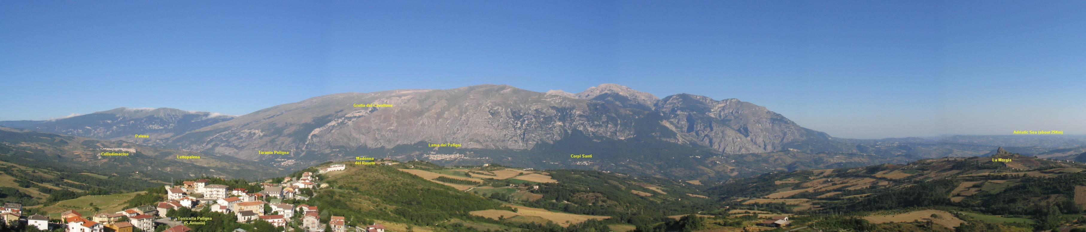 Maiella Panoramic View, by Silvio DiPaolo